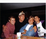 Matt Hockett, Eric Raarup, Jeff Carlson, Mike Carter back in the late 90s.