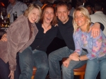 Lisa Stuppy, Patty Hegre and two college friends last April at a bar...shocker!