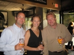 Mark Sauter, Jane (Linsmayer), Ross Olsen at Mcoy's.